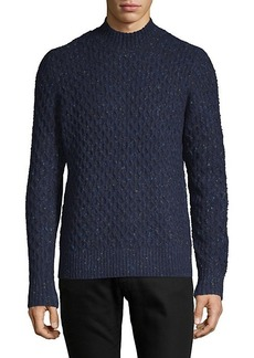 Vince Honeycomb-Knit Wool-Blend Sweater