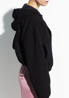 Vince Hooded Cotton Jacket