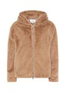 Vince Hooded faux fur jacket