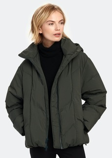 Vince Hooded Puffer Jacket - L