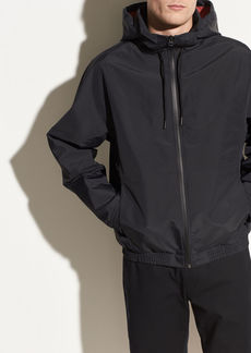 Vince Hooded Track Jacket