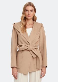 Vince Hooded Wool Coat