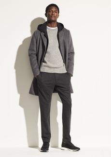 Vince Hooded Wool Topcoat