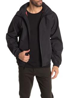 Vince Hooded Zip Front Track Jacket