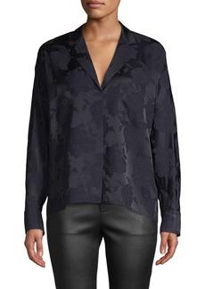 Vince Jacquard Pajama Shirt