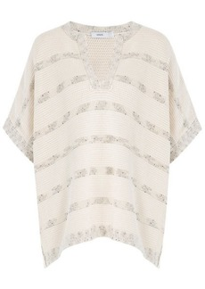 Vince Knitted Cotton Cape