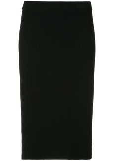 Vince knitted pencil skirt