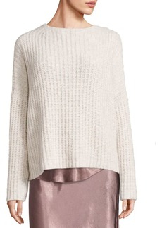 Vince Ladder Stitch Cashmere Blend Sweater