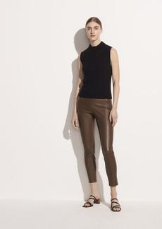Vince Leather Crop Pant