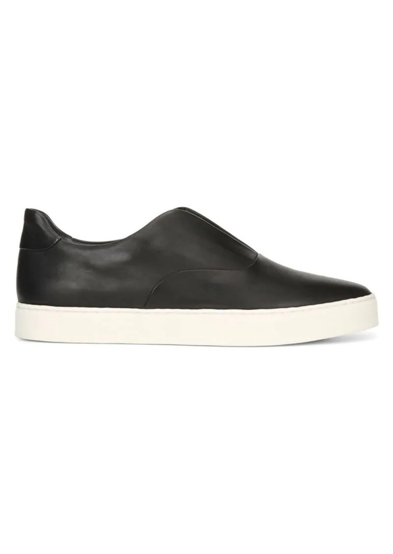 Vince Galia Leather Slip-On Sneakers