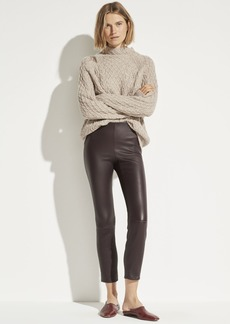 Vince Leather Stitch Front Legging