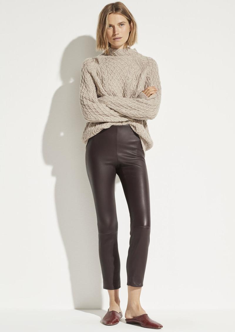 Vince Leather Stitch Front Legging