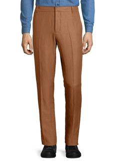 Vince Linen-Blend Tapered-Leg Trousers