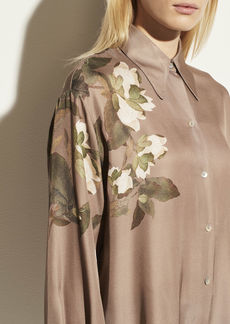 Vince Lisianthus Collared Blouse