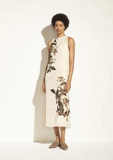 Vince Lisianthus Cowl Neck Dress
