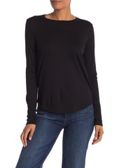 Vince Solid Long Sleeve T-Shirt