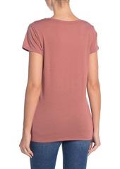 Vince Little Boy V-Neck T-Shirt