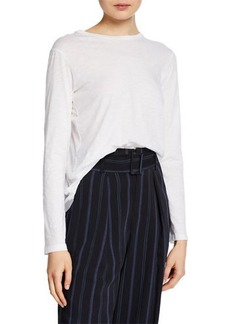 Vince Long-Sleeve Cotton T-Shirt