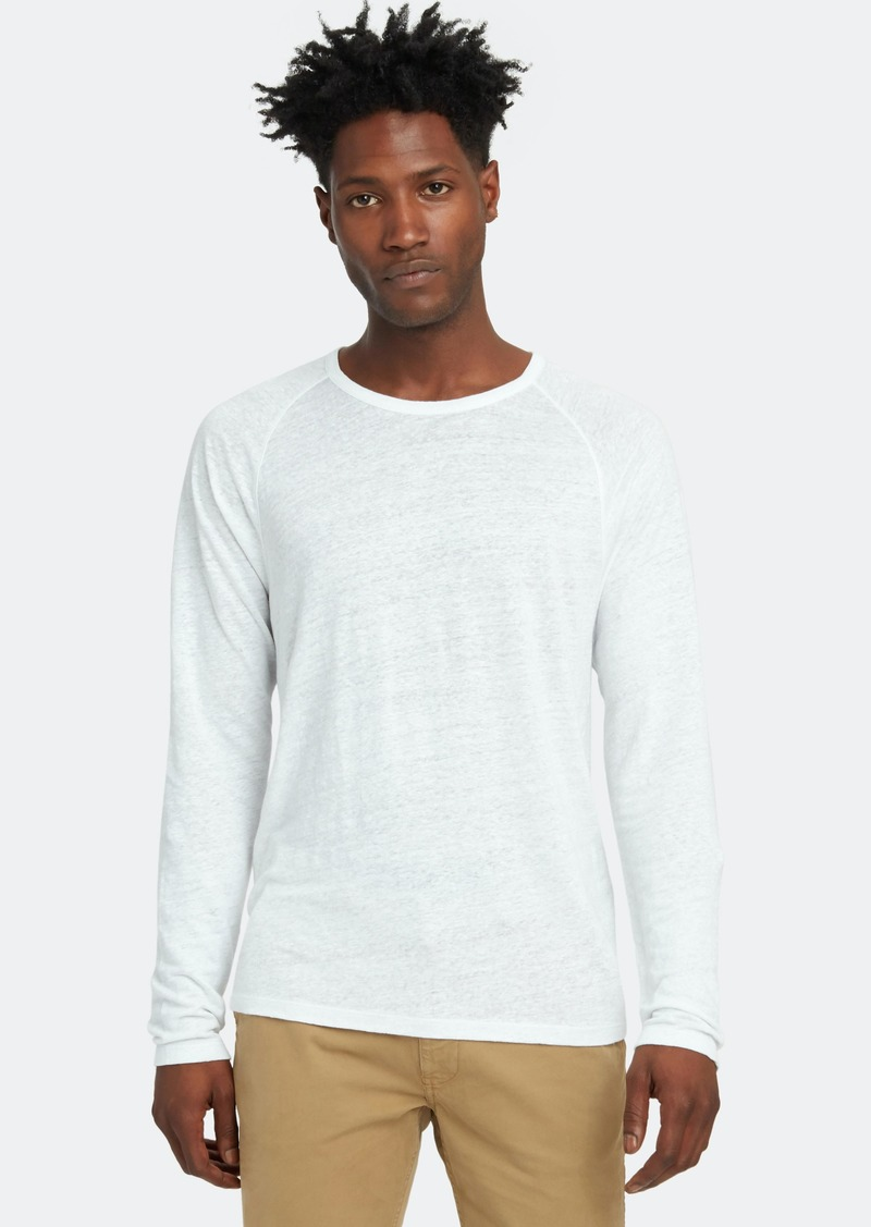 Vince Long Sleeve Crewneck T-Shirt - XS - Also in: XL, L, S