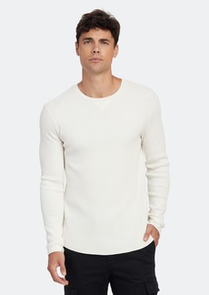 Vince Long Sleeve Crewneck Thermal Shirt