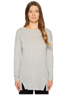 Vince Long Sleeve Drapey Tunic