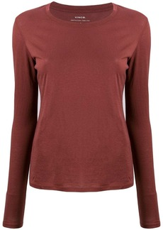 Vince long-sleeve fitted top
