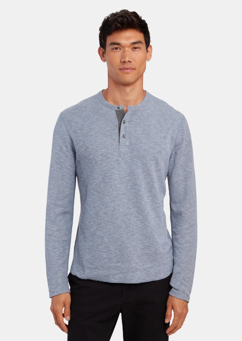 Vince Long Sleeve Henley - XS - Also in: S, XL, XXL