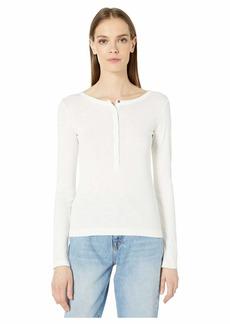Vince Long Sleeve Henley Sweater