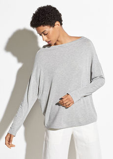 Vince Long Sleeve Mock Neck
