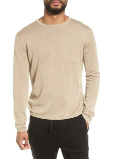 Vince Long Sleeve Pocket T-Shirt