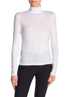Vince Long Sleeve Solid Turtleneck