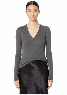 Vince Long Sleeve V-Neck