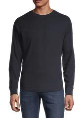 Vince Long-Sleeve Waffle-Knit Top