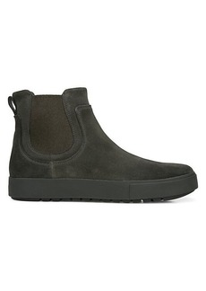 Vince Lowell Water-Repellent Leather Chelsea Boots
