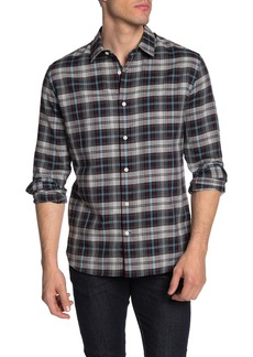Vince Madras Plaid Classic Fit Shirt