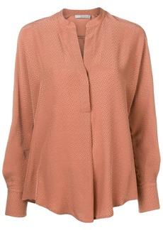 Vince mandarin collar blouse