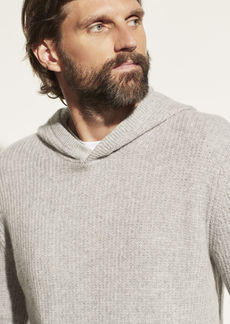 Vince Marled Cashmere Pullover Hoodie