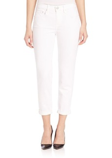 Vince Mason Relaxed Rolled Skinny Jeans