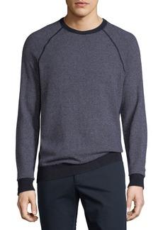 Vince Men's Birdseye Crewneck Sweater