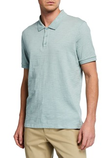 Vince Men's Classic Short-Sleeve Polo Shirt