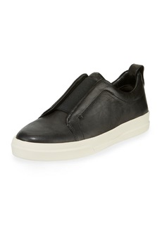 Vince Men's Conway-B Leather Slip-On Sneakers