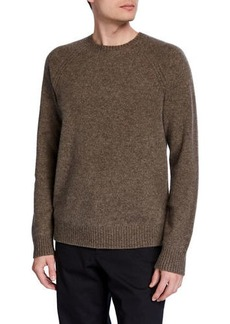 Vince Men's Crewneck Raglan Long-Sleeve Sweater