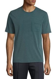 Vince Men's Garment-Dyed Pocket T-Shirt