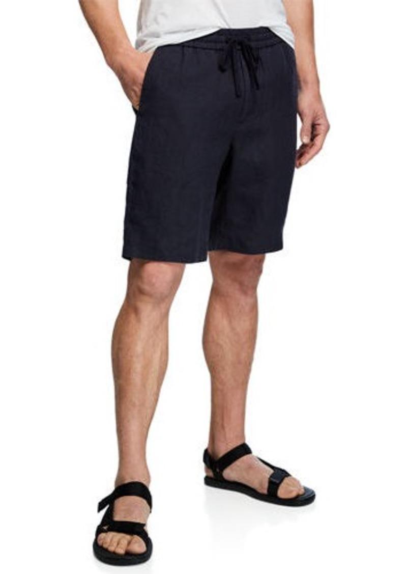 Vince Men's Hemp Pull-On Shorts