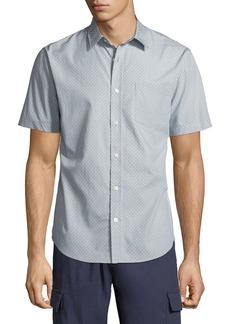 Vince Men's Micro Stars Short-Sleeve Sport Shirt