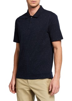 Vince Men's Neps Short-Sleeve Polo Shirt