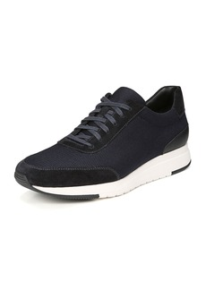 Vince Men's Paton 2 Suede-Trim Mesh Sneakers