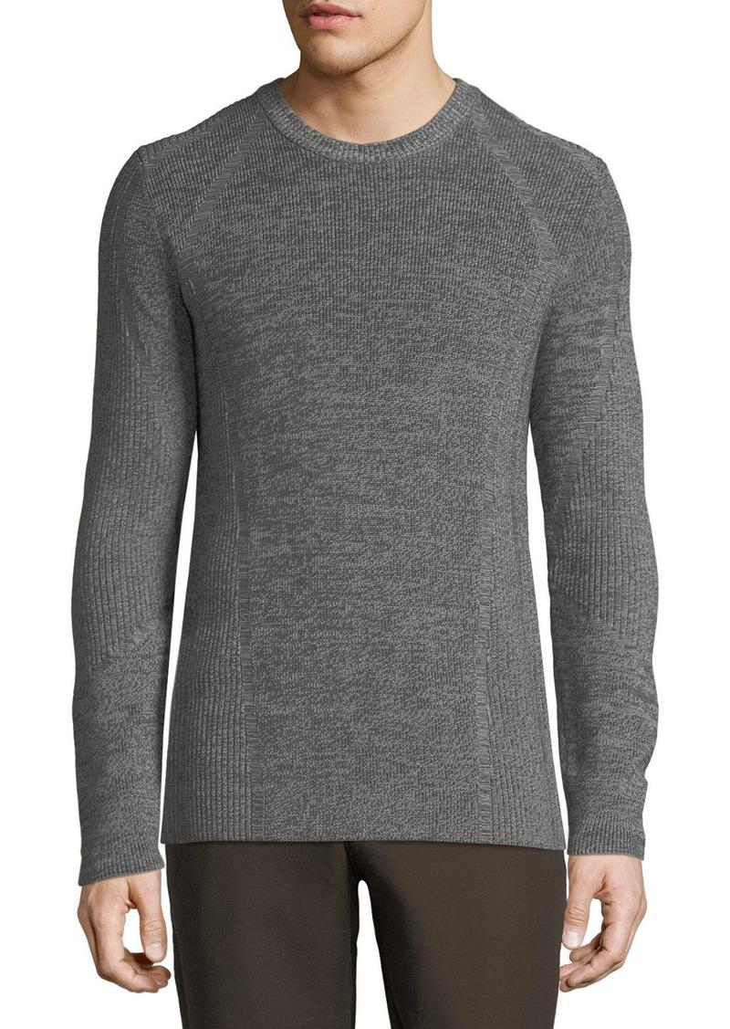 Vince Men's Ribbed Crewneck Sweater