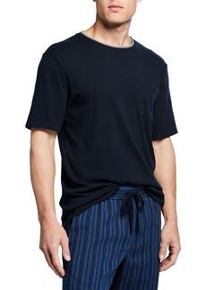 Vince Men's Tipped Crewneck Pocket T-Shirt
