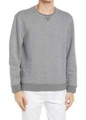 Vince Bird's Eye Double Knit Pullover